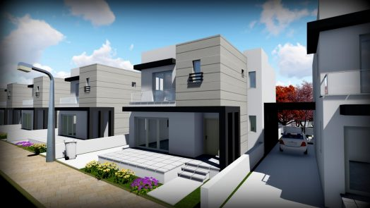 detached villas in lefkosa for sale