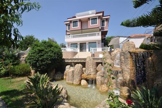 Mansion Villa for sale in Oba, Alanya (1)